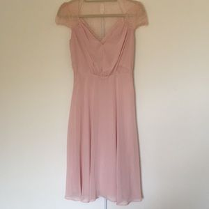 ASOS pink Midi dress size 4